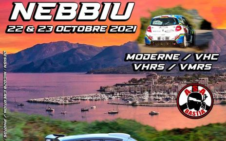 17 ème Rallye Régional du Nebbiu
