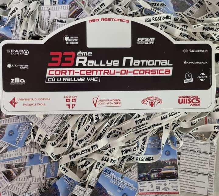 Rallye de Corté – Centre Corse 2021