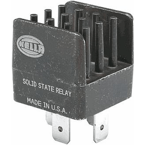 Hella HL87251 Mini Solid State Relay, 12V, 20A   Rally Lights