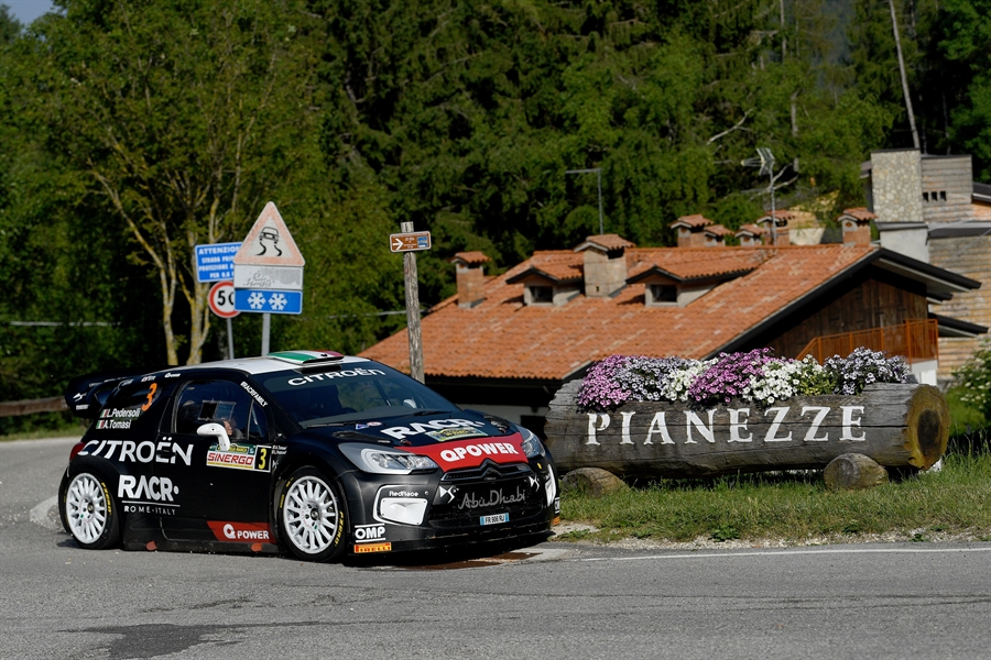 Luca Pedersoli e Anna Tomasi, Citroen DS3 Wrc, vincono il 36°Rally della Marca