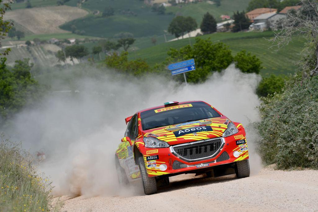 Paolo Andreucci, Rudy Briani (Peugeot 208 T16 #2, Maranello Corse