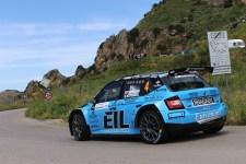 Rudy Michelini in gara alla Targa Florio