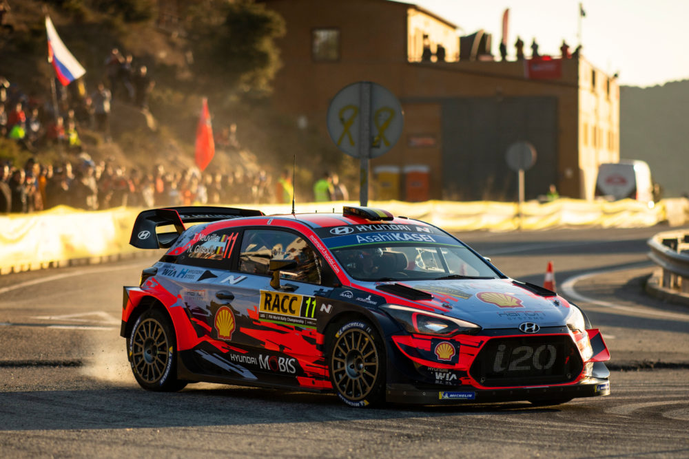 Thierry Neuville in Spagna