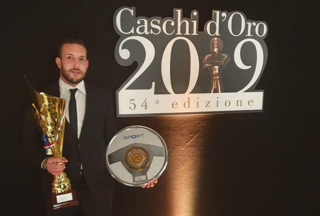 Marco Pollara Caschi d'Oro Autosprint e Volanti ACI