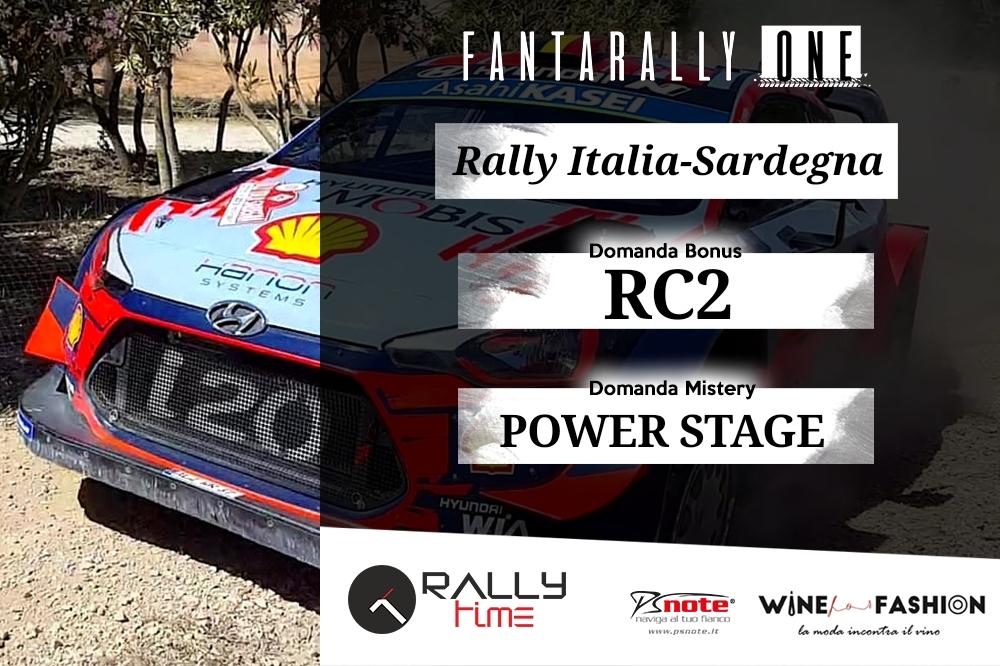 Rally Italia Sardegna WRC