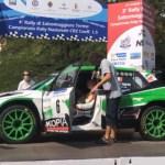 Rally di Salsomaggiore Terme, il primo leader è Roberto Vellani