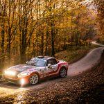 Scorpione protagonista al Rally Hungary con il quinto round l'Abarth Rally Cup