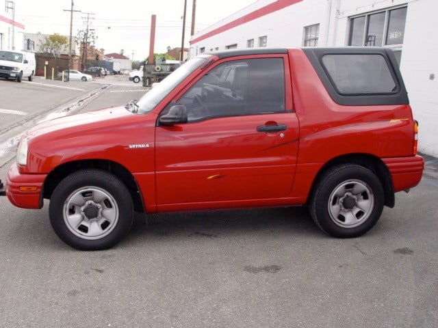 Rally Tops Quality Hardtop For Suzuki Vitara 1999 2004