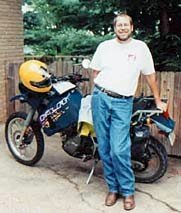 Me and my old KLR