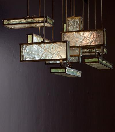 Ralph Pucci International Lighting Lianne Gold