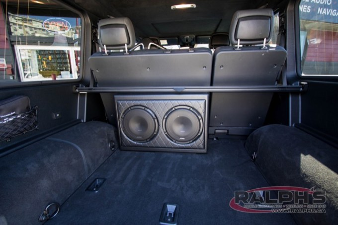 Mercedes-Benz G63 Subwoofer Upgrade for Kelowna Client