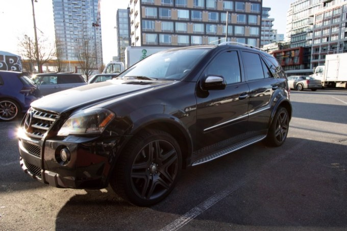 Mercedes ML63 Alarm and Audio System for Vancouver Client