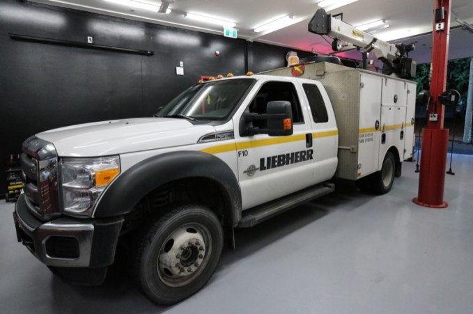 Advanced Security System for Richmond-based Ford F-550 Service Truck