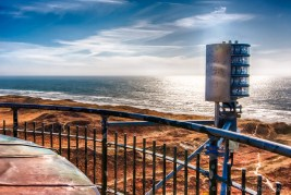 Ausblick vom Lyngvig Leuchtturm