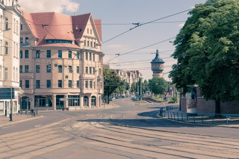 am Steintor in Halle /Saale