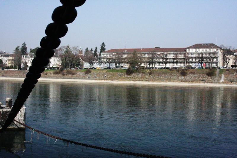 Erinnerung an das Kinderspital am Rhein