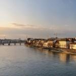 Erinnerung an Kunstwerke im Rhein 1999 und 2001