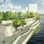 Aktueller Stand der Dinge: Rheinuferweg, Elsässerstrasse und Stadtreinigung
