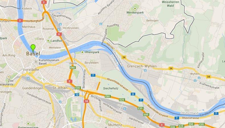 Der rote Rhein (1. November 1986)