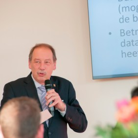 Frank Waarsenburg op Future Proof ICT netwerkevent RAM Infotechnology