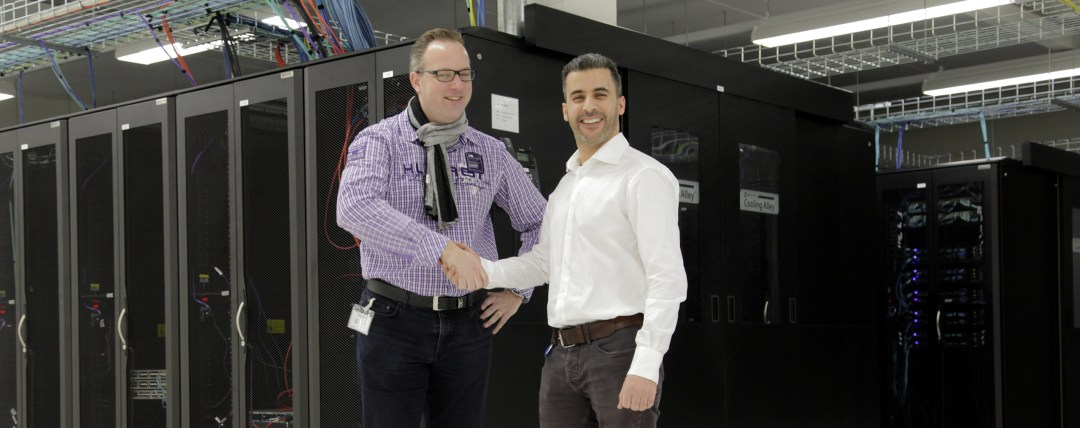 Datacenter RAM Infotechnology voor Geriant