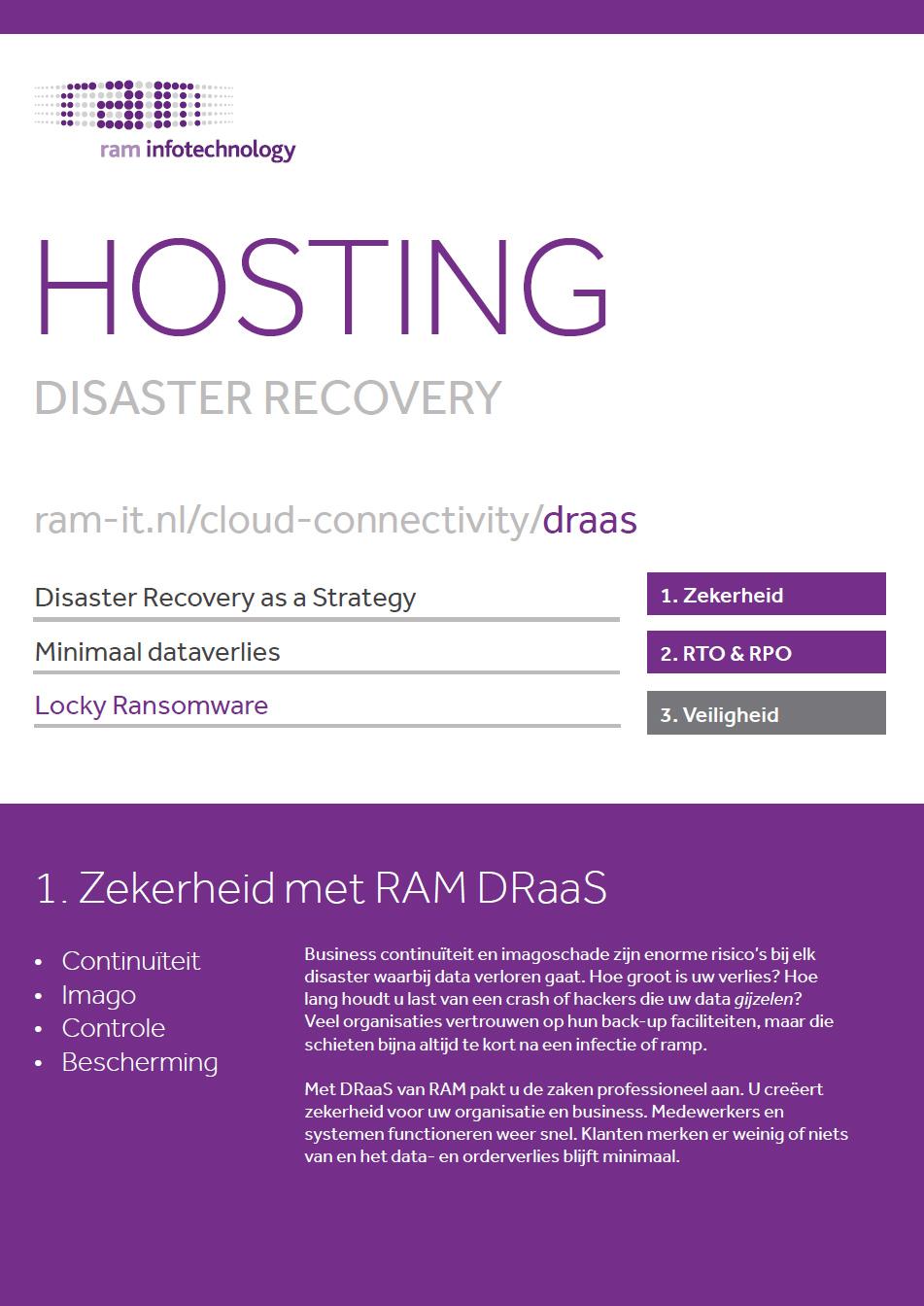 DraaS - RAM Infotechnology