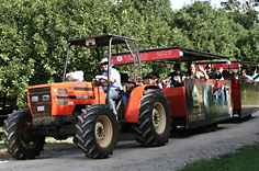 Summerland House Farm Tractor Tour