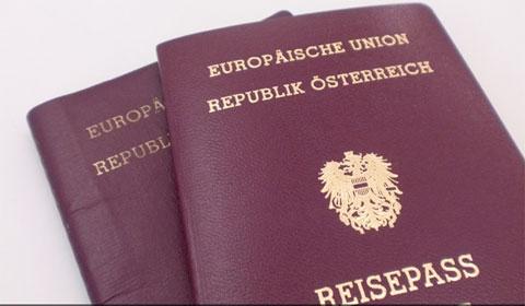 osterreich-Reise-Pass