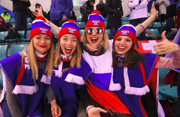 Russland-Fans