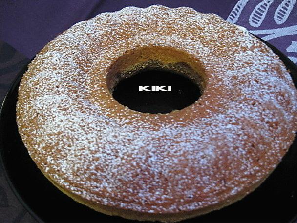 Tulband cake met amandelen