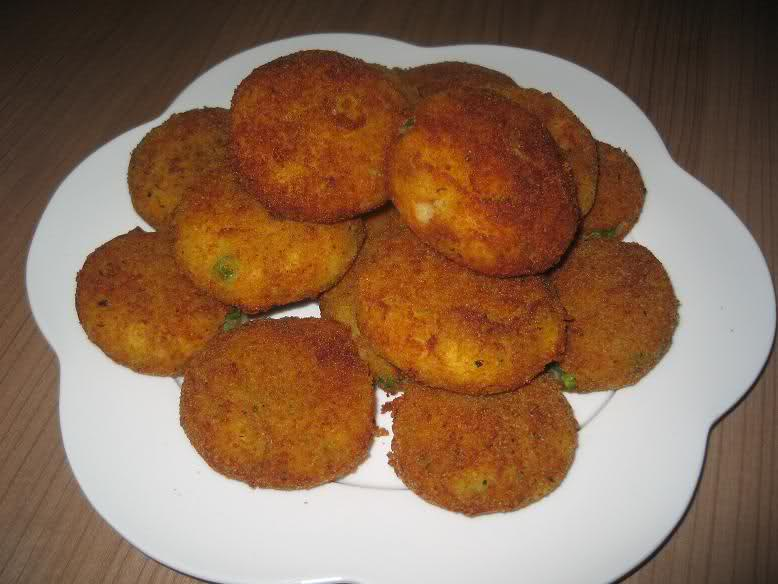 Aardappel groentekoekjes