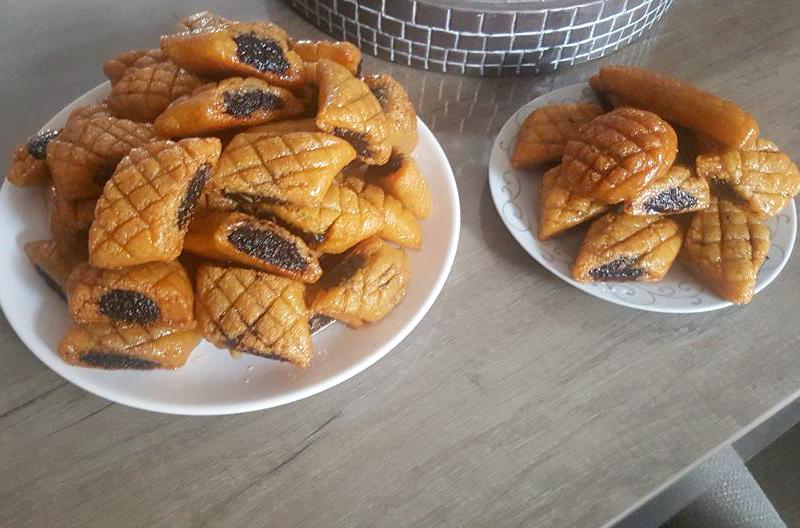 Algerijnse Makrout koekjes