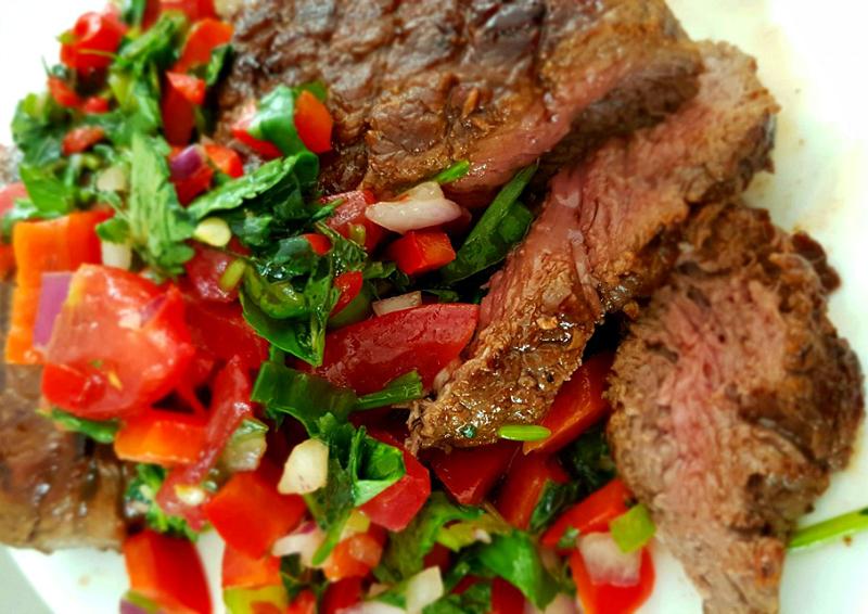 BBQ tomatensalsa