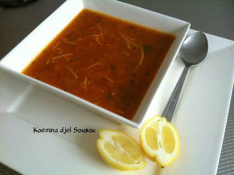 Snelle soep als vervanger voor harira