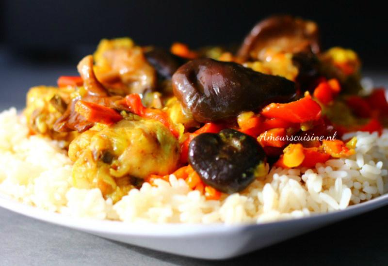 rijst-champignons