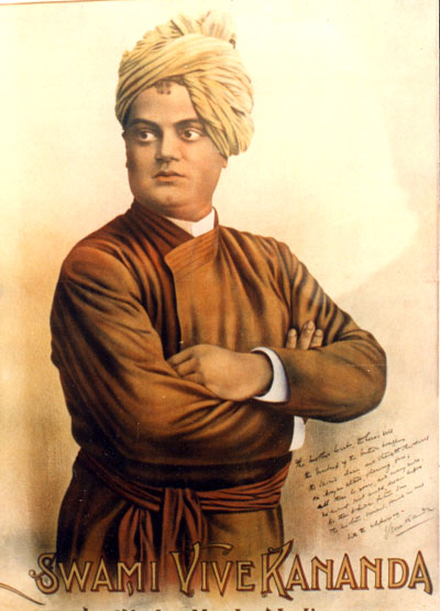 This is picture of the great swami Vivekananda