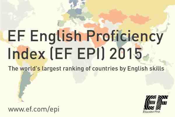 Global Ranking of English Language Skills Released