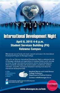 International Development Night 2015