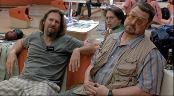 The Dude and his companions.