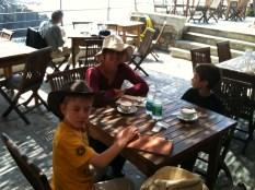 Lunch in Riomaggiore.