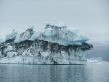 Iceberg at Jokulsarlon.