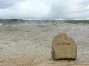 Geysir, the original geyser.