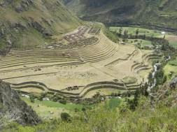 Incan ruins at Piskacuchu.