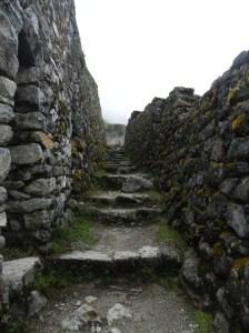 Incan ruins.