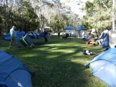 Second night campsite.