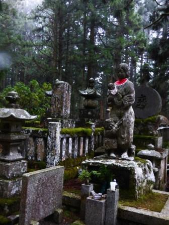 Okunoin graveyard Koyosan.