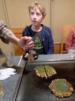 Japanese pancakes.