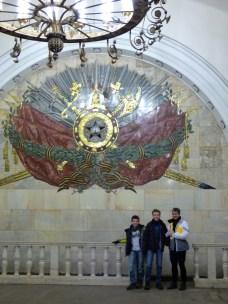 Moscow metro.