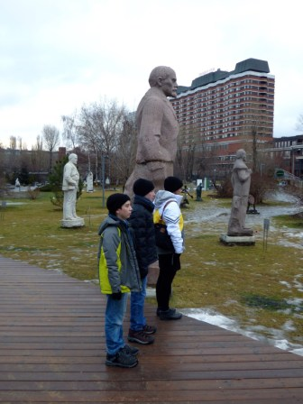 Lenin and friends.