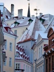 Tallinn roofscape.